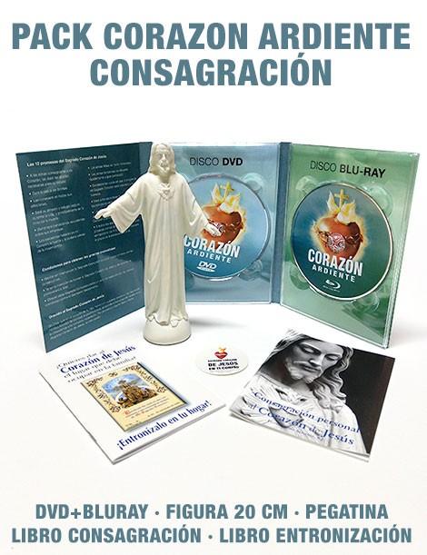 PACK Corazón Ardiente CONSAGRACIÓN (DVD+BLURAY+FIGURA)