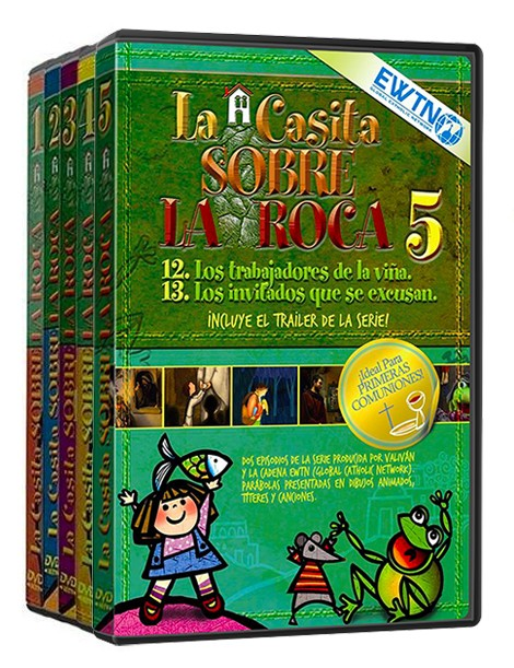 Pack Volumen 1 al 5: La Casita sobre la Roca (1-5)