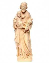 San José con el Niño Jesús...