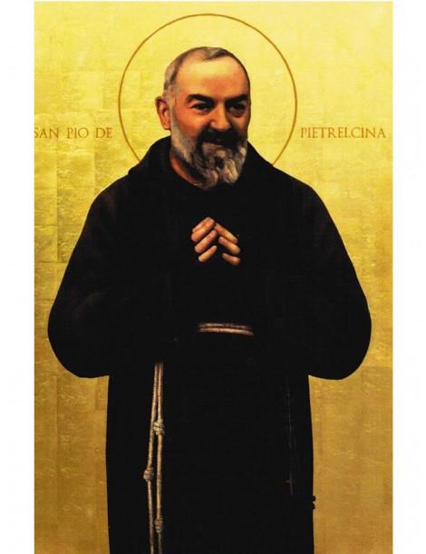 Lienzo Padre Pio 30x40