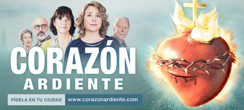 Corazon Ardiente ya en cines