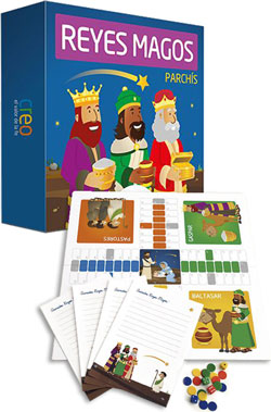 PARCHIS-REYES-MAGOS