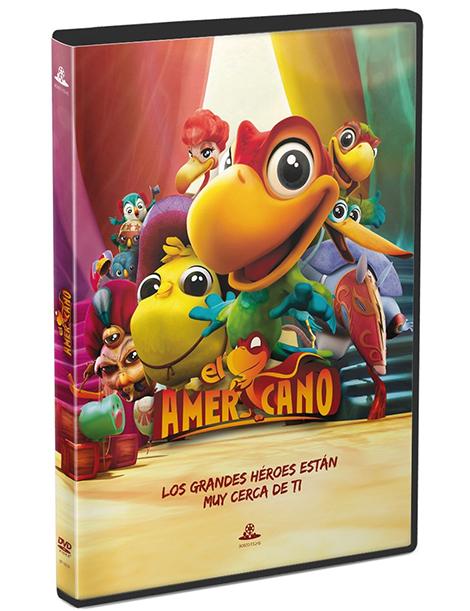 Película en DVD EL AMERICANO