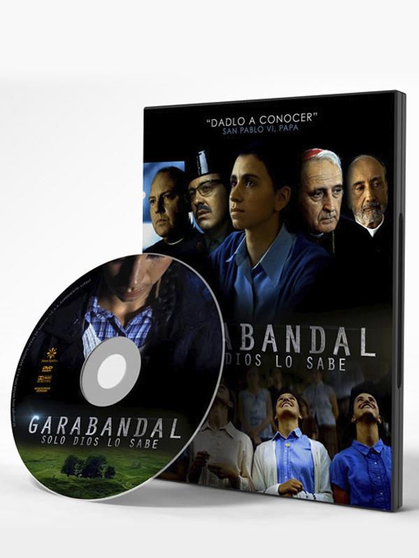 pelicula en DVD Garabanda, solo Dios lo sabe