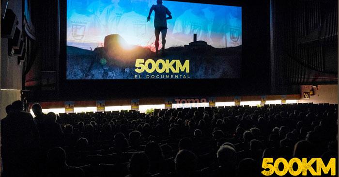 Presentación en el cien del documental 500KM La carrera más larga de Europa