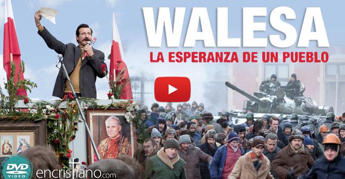Lanzamiento en DVD de la película: Walesa, la esperanza de un pueblo
