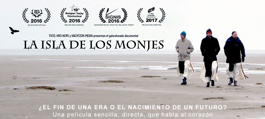 Documental en DVD LA ISLA DE LOS MONJES