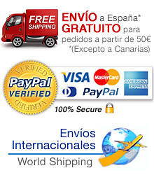 Pago seguro - Envíos internacionales
