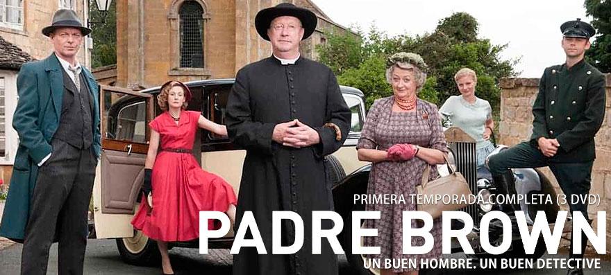 Primera temporada completa de la serie de la BBC en DVD PADRE BROWN