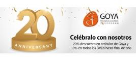 20 Aniversario de Goya Producciones