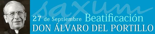 Beatificación Alvaro del Portillo