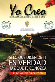 YO CREO: Un documental sobre la belleza de la FE - Documental en DVD