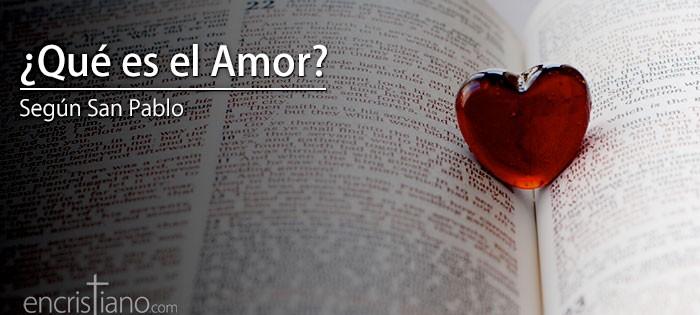 Pablo Matrimonio Biblia : Qué es el amor según san pablo encristiano